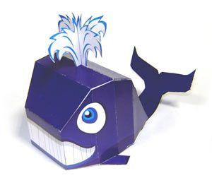 Made in Paperland: Китенок из бумаги