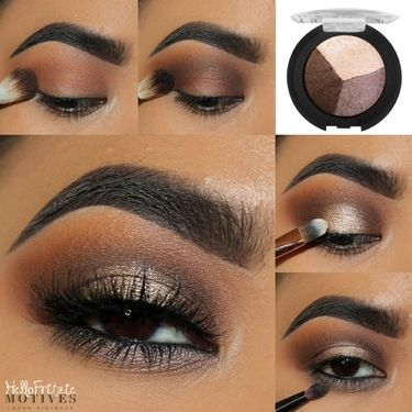 Get #elegant #eyes with Motives Pressed eyeshadow in Heat Wave.Sign up, shop, and earn cash! Visit us @ http://www.motivescosmetics.com/