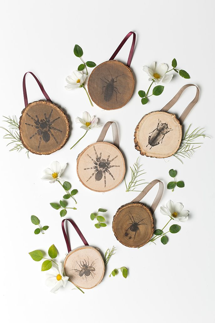 Create a more rustic Halloween decoration for your home with our DIY Halloween Transfer Wood Plaques! #larsmakes
