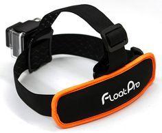 2-in-1 GoPro Head Strap Mount + Detachable Floaty