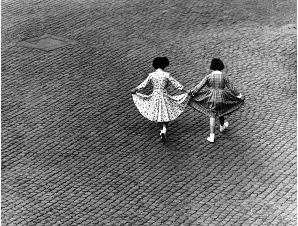 HERBERT LIST  Dance of the Dresses, Rome, 1949  Gelatin Silver Print