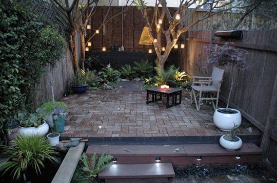 Found on global home site Normal Room, this courtyard garden in Sydney was beautiful before its renovation, but it's even better now...