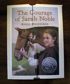 Home with us...: The Courage of Sarah Noble - Unit study and lapbook