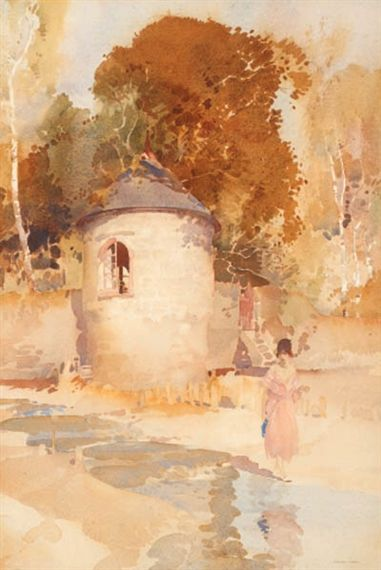 William Russell Flint - The Turret