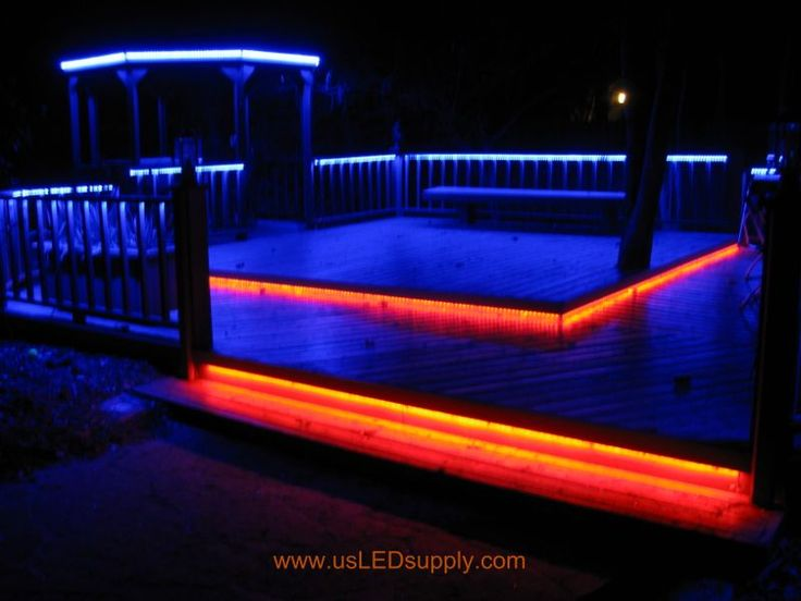Best Rope Lights For Deck : Best led deck lights ideas on outdoor patio designs pole and