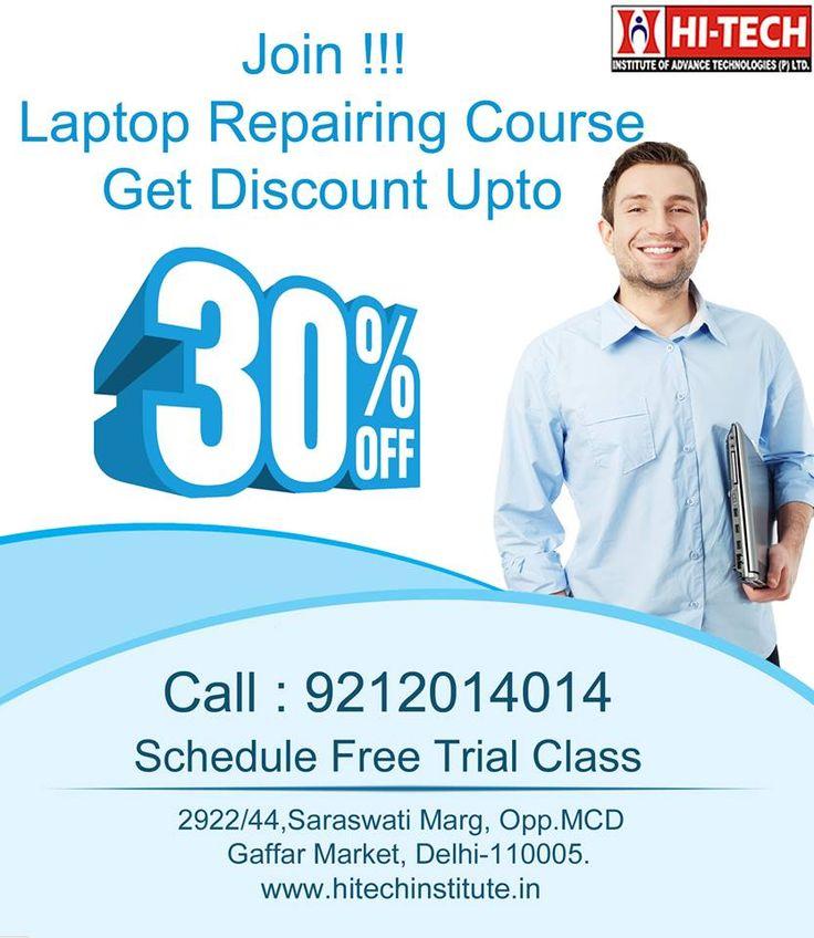 Hi-tech Institute Laptop Repairing Course in Delhi