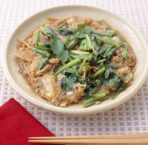 ごぼうと豚肉の柳川風 レシピ   簡単 料理レシピ ベターホームのレシピ ...