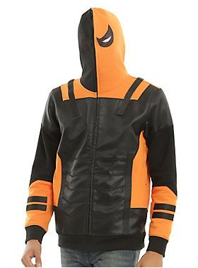 DC Comics Deathstroke Cosplay Hoodie #HotTopic
