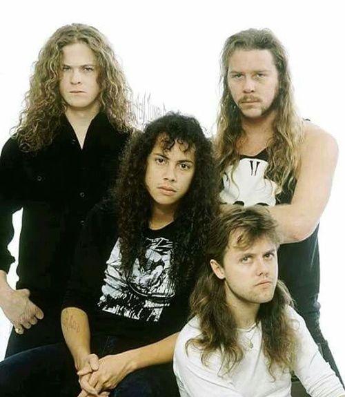 Jason Kirk Stock Photos Jason Kirk Stock Images: Imagen De Metallica, James Hetfield, And Jason Newsted