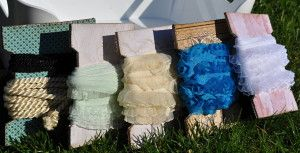 Spools for ribbons