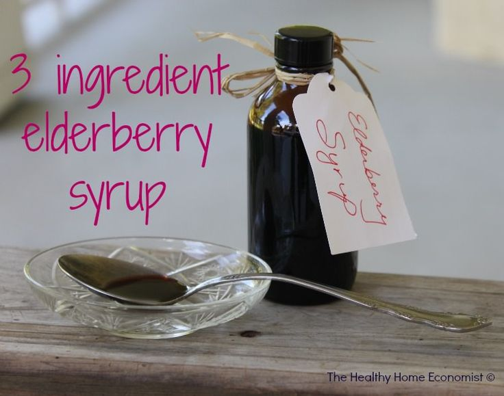 This 3 ingredient recipe for elderberry syrup can be taken off the spoon as a remedy for coughs, colds and flu or preventatively drizzled on pancakes or ice cream as a healthy, immune boosting topping.  http://www.thehealthyhomeeconomist.com/simple-elderberry-syrup-to-boost-immunity/