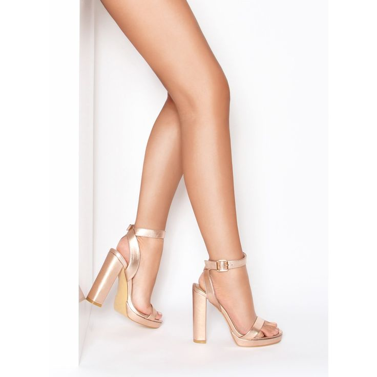 Blook Heel Shoes