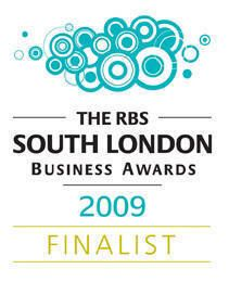 FINALIST at the RBS South London Business Awards 2009