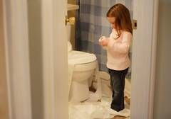 One of the problems that evokes consternation in doctors and parents alike is stool refusal in an otherwise normal child. While you may be completely comfortable solving problems of encopresis in school-aged children, the recalcitrant preschooler who will urinate in a toilet or potty chair but simply won't deliver a poop there brings parents to their knees.