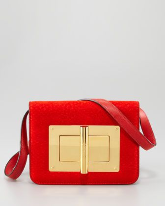 Named after me...Medium Peccary Natalia Bag by Tom Ford