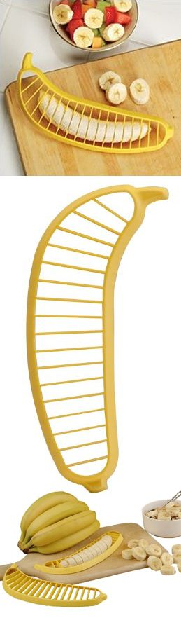 Ignore the product...you MUST go to the website and read the customer reviews... hysterical!! (Banana slicer)
