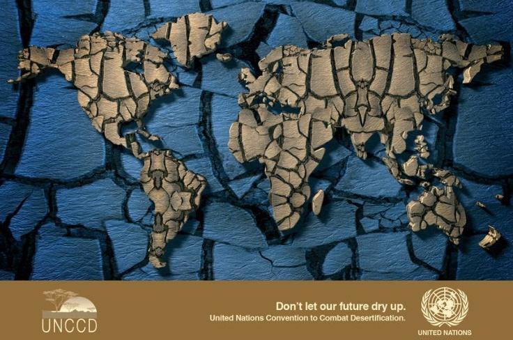 """17.06. 2013 Dia Mundial de Lluita contra la Desertificació i la Sequera. Amb el lema """"No deixis que el nostre futu se sequi"""" es vol conscienciar al món sobre l'escassesa de l'aigua i les conseqüències de la sequera, ja que tots som responsable de l'ús i abús de l'aigua i de la terra.   + info: http://www.un.org/es/events/desertificationday/, http://www.reciclame.info/calendario-medioambiental/dia-mundial-de-lucha-contra-la-desertificacion-y-la-sequia/"""