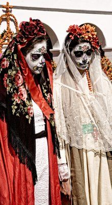Day of the Dead costumes~Image © Sandi Whitteker