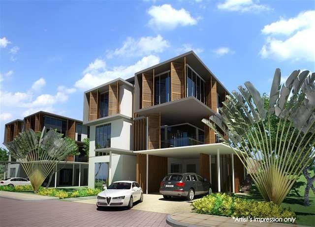 Malaysia modern villa 1 malaysia modern villas for Modern house design malaysia