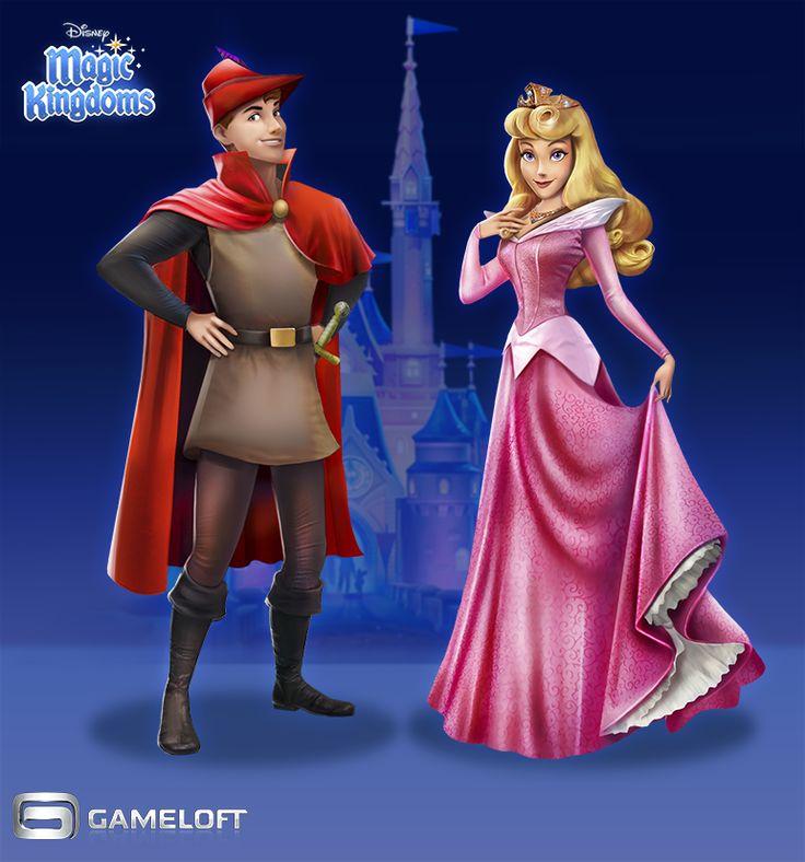 Sleeping Beuty | Disney Magic Kingdoms   by:Iria Abella