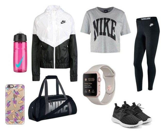 """""""Sporty look #2"""" by sarkim-1 ❤ liked on Polyvore featuring NIKE and Casetify"""