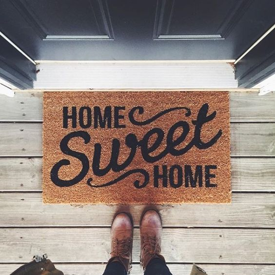 Greet your guests from the moment they come to the front door with these quirky doormats that speak for you!