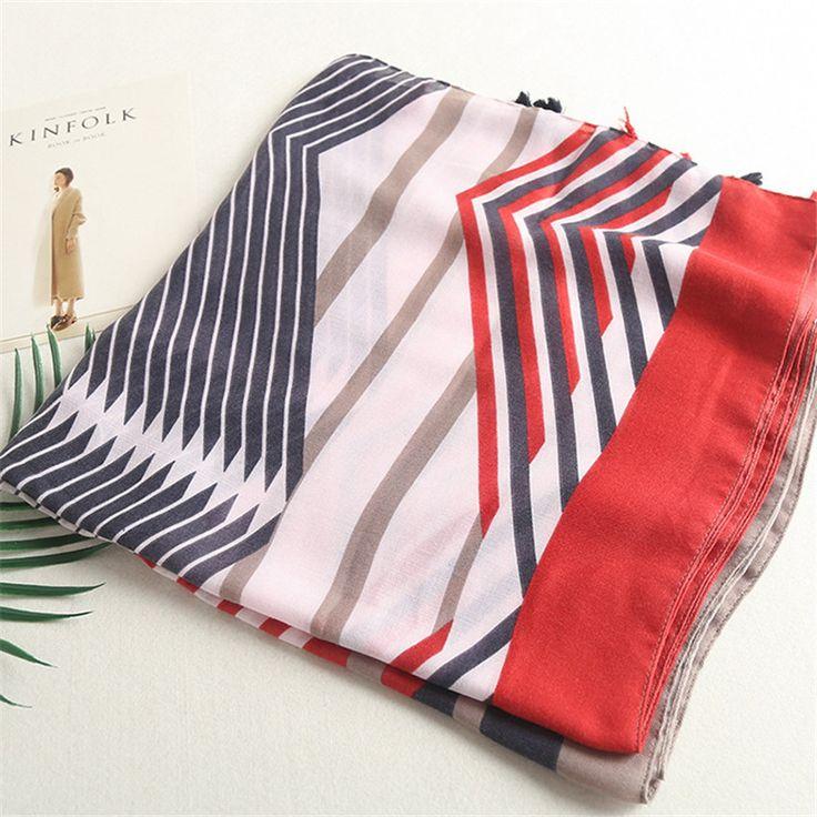 >> Click to Buy << High Quality Plian Striped Line Tassel Viscose Shawl 2017 Thick Wrap Warm Stolen Pashmina Sjaal Muslim Hijab Echarpe Foulard Cap #Affiliate