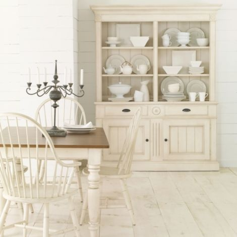 New country by ethan allen miller farmhouse table 62 ethan allen furniture - Ethan allen buffet table ...