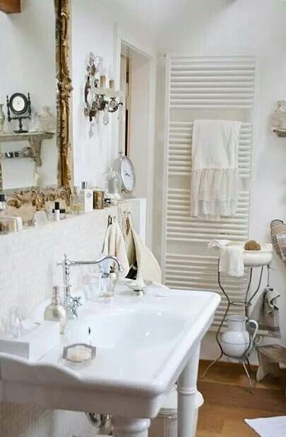 140 best images about shabby chic bathrooms on pinterest - Shabby chic bathroom sink ...