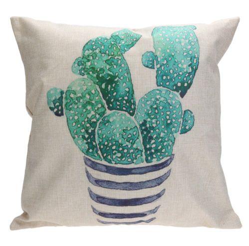 Cactus Pillow Cover Cactus Throw Pillow Decorative Pillow Cactus Cushion Cactus Decor Cactu Cactus Throw Pillows Cotton Pillow Cases Cushion Pillow Covers