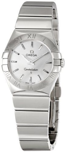 Omega Women's 123.10.27.60.02.002 Constellation Silver Dial Watch * To view ...