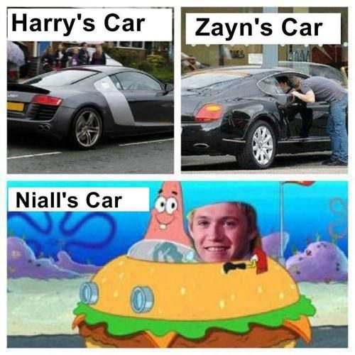 Funny One Direction   niall horan 1d 1d funny one direction spongebob squarepants