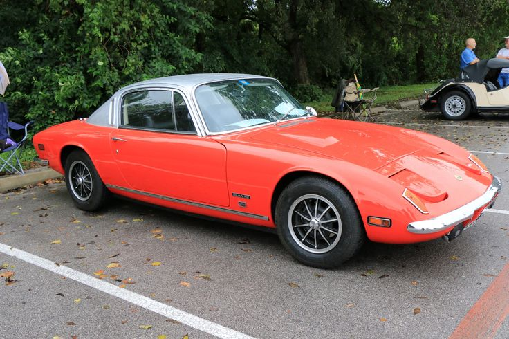 1973 Lotus Elan+2 S130, as shown at the 2016 Texas All British Car Days event in Round Rock, TX, USA.