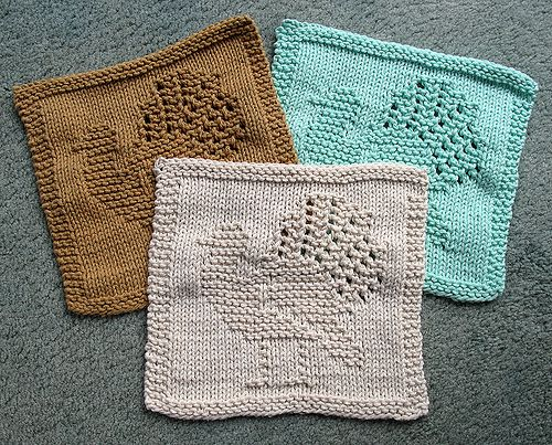 Free Knitting Pattern Turkey Dishcloth : 466 best images about Knit dishclothes on Pinterest