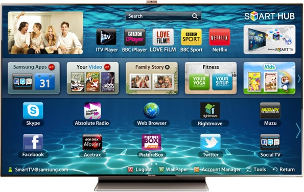 Samsung Smart TV LED da 75""