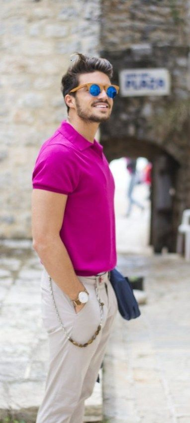 54d985cb8f How To Wear Pink Outfits - Men s Style Tips
