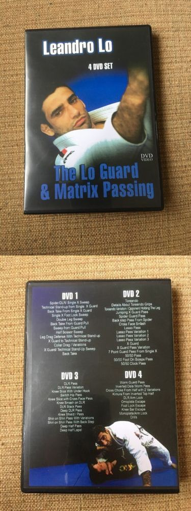 DVDs Videos and Books 73991: Bjj The Lo Guard And Matrix Passing Dvd Set -> BUY IT NOW ONLY: $35 on eBay!
