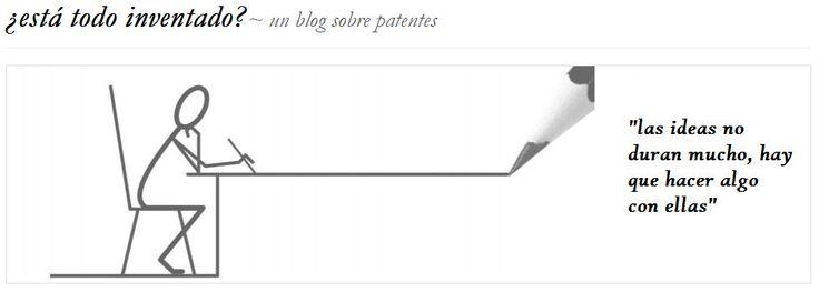 Blog sobre patentabilidad, desarrollo de negocio, trámites y actualidad de #patentes.