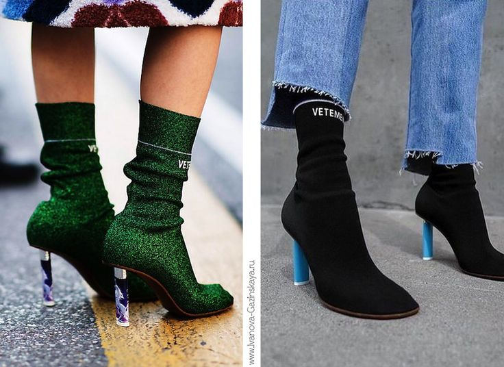 Vetements sock ankle boots | ideas | looks | street style