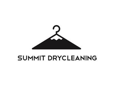 Summit Dry Cleaning Logo by Michael Spitz. 23 Logos with Hidden Meanings.