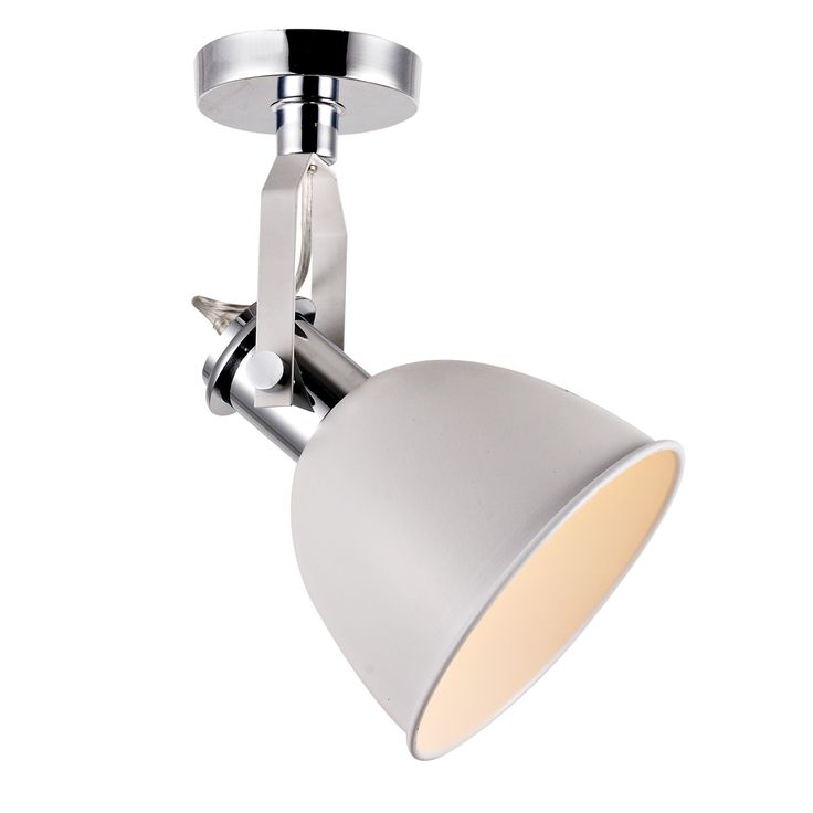 KARWEI plafondlamp Figo wit - deze als spotjes op de kast schijnend.