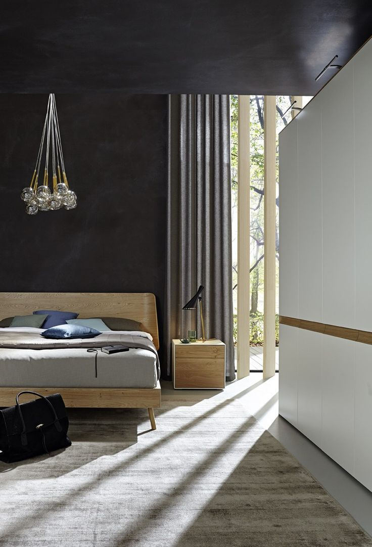 Perfect LUNIS collection by H lsta ai iSaloni A bedroom range featuring versatile architectures for