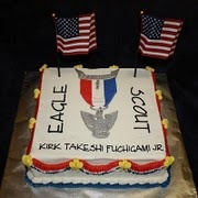 Eagle Scout Cake. Grandma's golden rule is we all marry Eagle Scouts. She works for Boy Scouts of America.