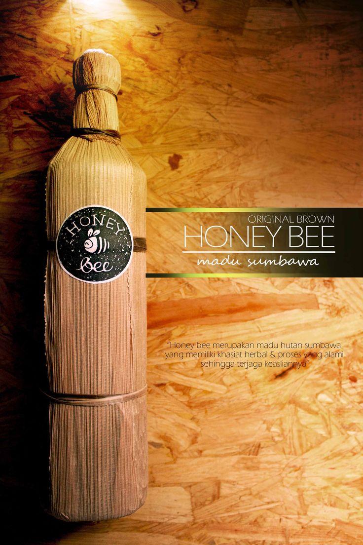 honey bee sumbawa original brown  madu hutan sumbawa we are different we are wild honey