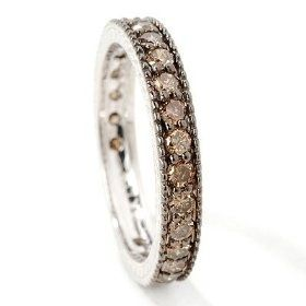 Chocolate Diamond Rings | chocolate diamond ring | Gowns and Fancies