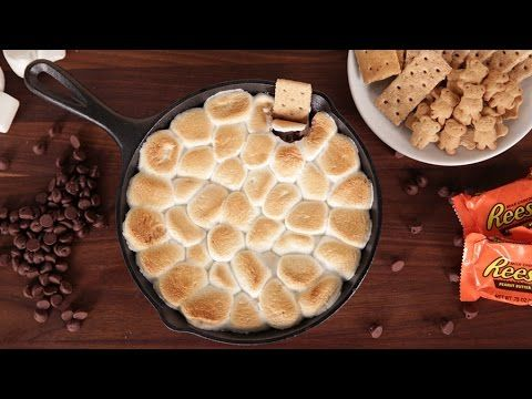 The Ultimate Cast Iron S'mores Dip