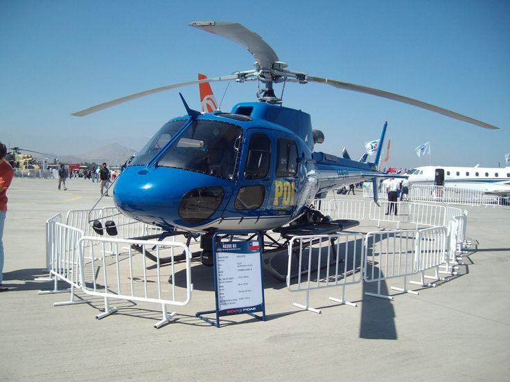 Eurocopter AS350B3 Policia de investigaciones de Chile (PDI)