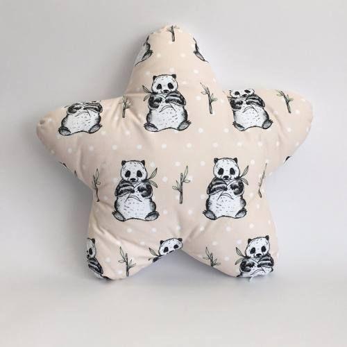Panda Star Cushion