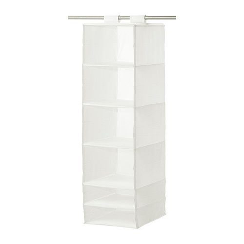 SKUBB Organizer with 6 compartments - white - IKEA