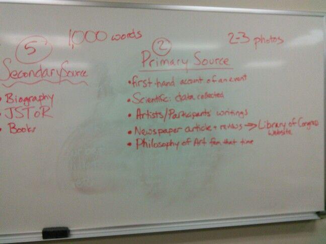 primary sources history essay rubrics